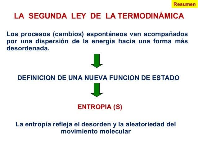 2 Y 3 Ley De La Termodinamica