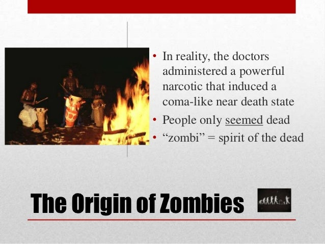 zombies in culture George romero's night of the living dead was released in 1968 blood thirsty zombies chased down citizens the tag line from the movie said it pits the dead against the living in a struggle for.