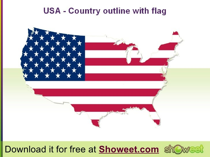 HiDef Editable PowerPoint Map Of USA Free Map - Free us map for powerpoint