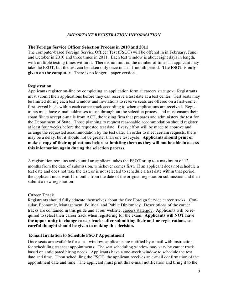 fsot essay topics