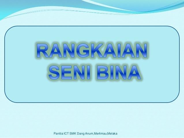 NETWORKARCHITECTURE   Panitia ICT SMK Dang Anum,Merlimau,Melaka