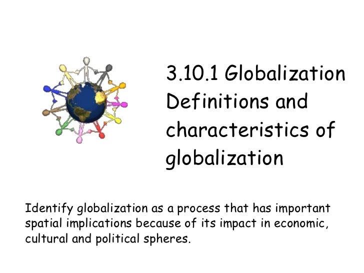 Essay on Globalisation