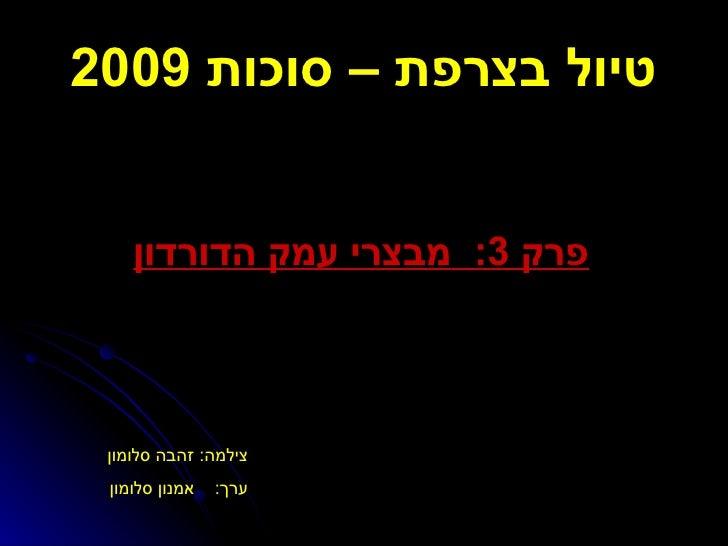 טיול בצרפת – סוכות  2009 פרק  3:  מבצרי עמק הדורדון צילמה :  זהבה סלומון  ערך :  אמנון סלומון