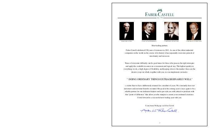 Baron Lothar von Faber           Count A zu Castell-Rüdenhausen       Count Roland von Faber-Castell   Count Anton W. von ...