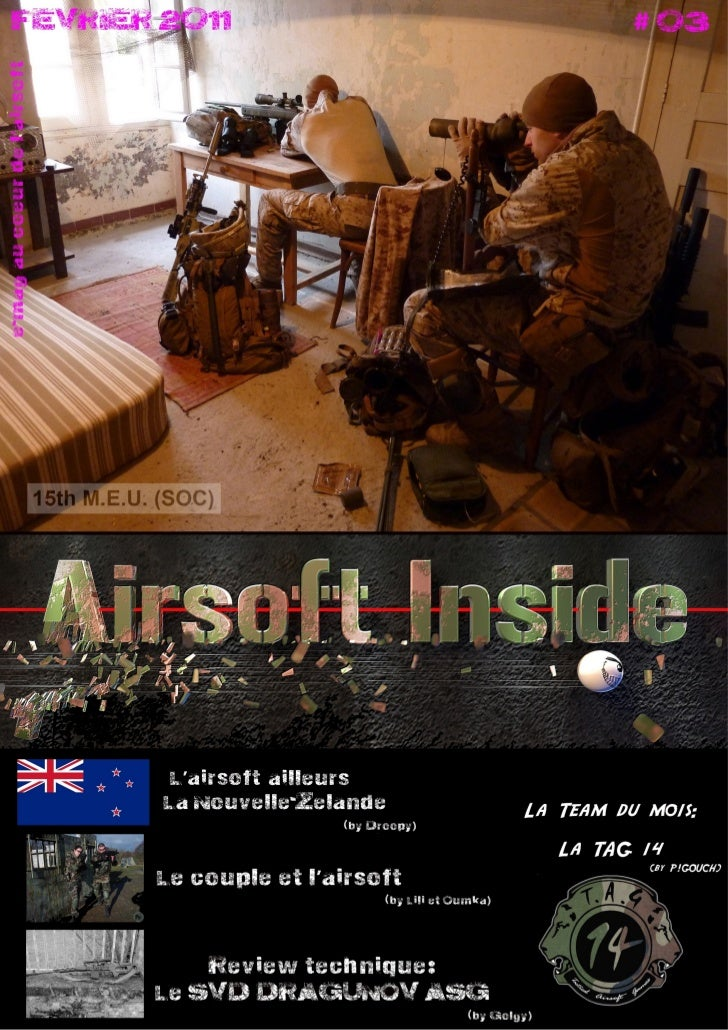 SOMMAIRE                                                Airsoft Inside                                                    ...