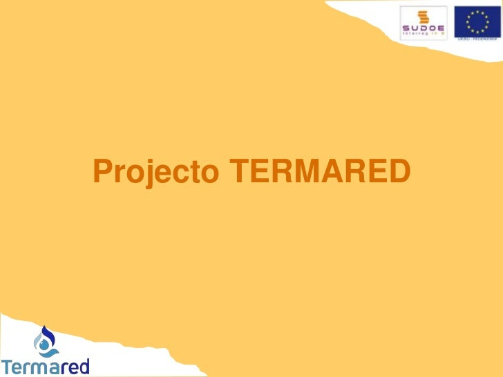 Projecto TERMARED <br />