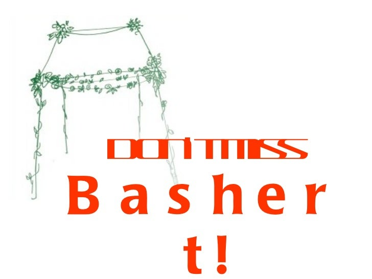 <ul><li>Don't miss </li></ul><ul><li>Bashert! </li></ul>