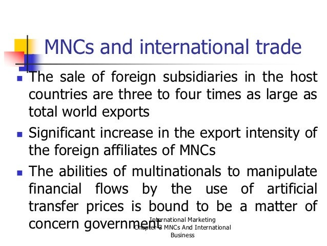 international business mnc essay Free essays discuss the management problems facing multinational companies and companies with an international dimension in various parts of the world.