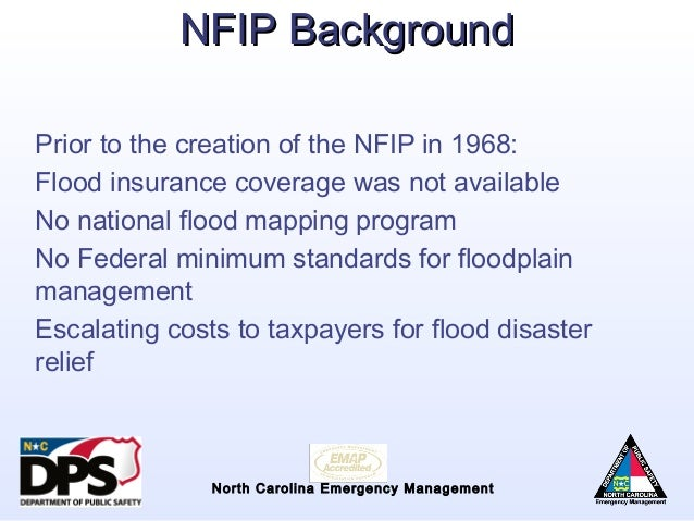 nfip overview flood risk information system elevation certificate
