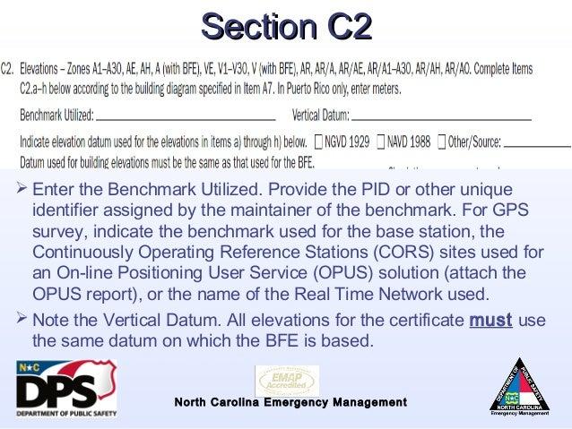 Nfip Overview Flood Risk Information System Elevation Certificate