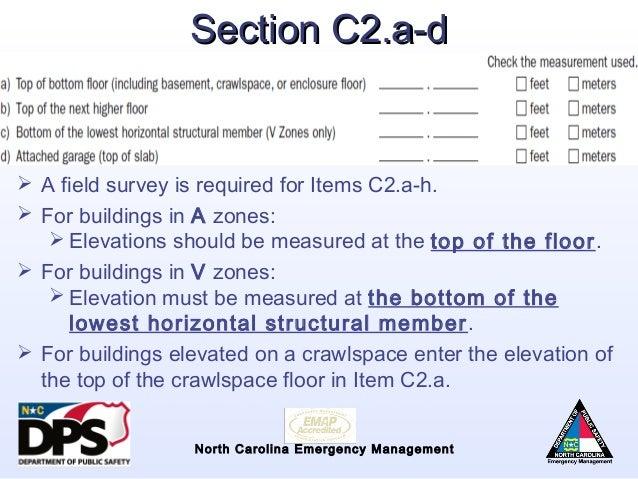 Top Of Bottom Floor Elevation Certificate : Nfip overview flood risk information system elevation