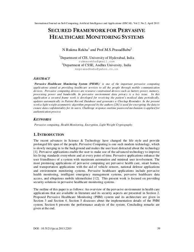 International Journal on Soft Computing, Artificial Intelligence and Applications (IJSCAI), Vol.2, No.2, April 2013DOI : 1...
