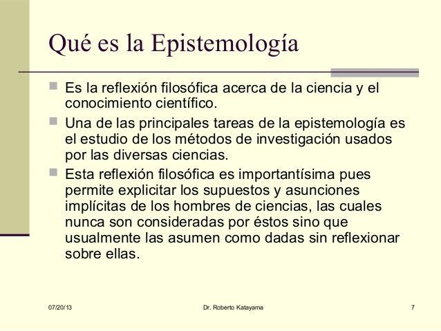 Epistemolog a de la Sociolog a de la Educaci n