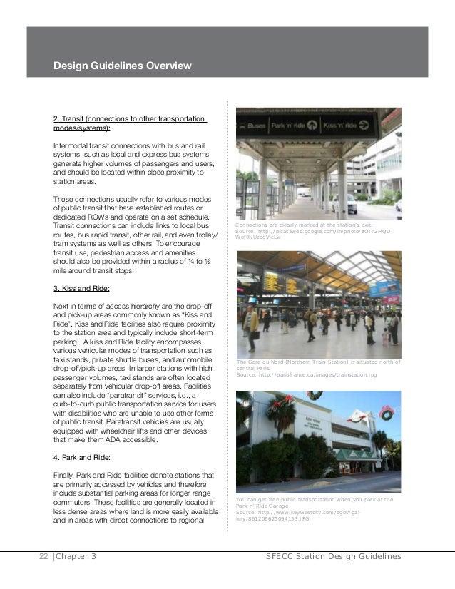 3 4 1 2 station design guidelines final 122309 rh slideshare net Train Station Decorating Ideas Train Station Decorating Ideas
