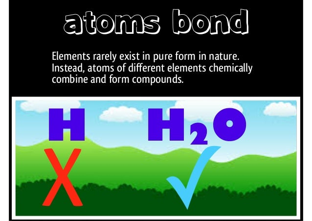Elements and Chemical Bonds
