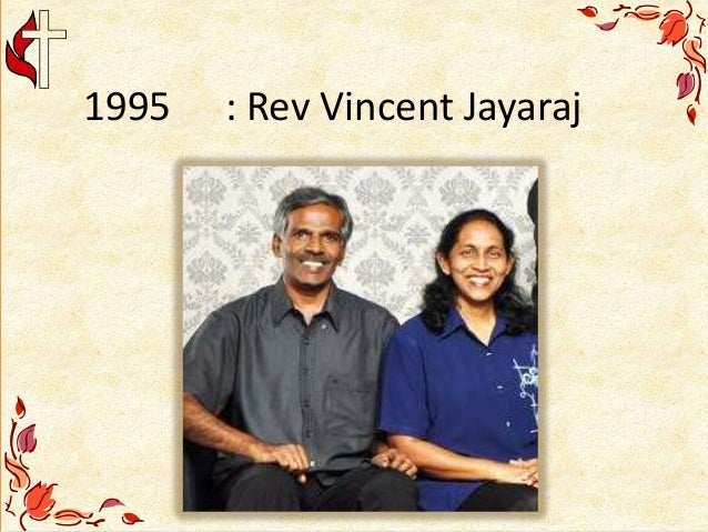 1995 : Rev Vincent Jayaraj