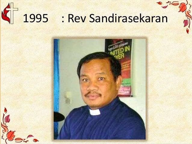 1995 : Rev Sandirasekaran