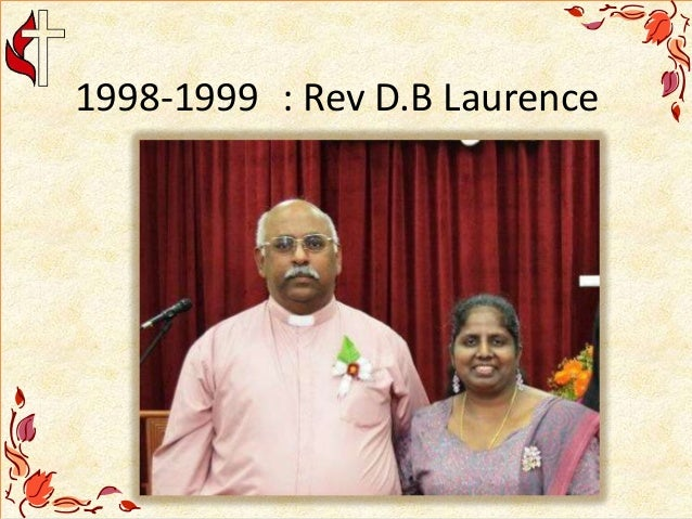1998-1999 : Rev D.B Laurence