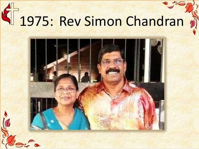 1975: Rev Simon Chandran