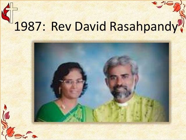 1987: Rev David Rasahpandy
