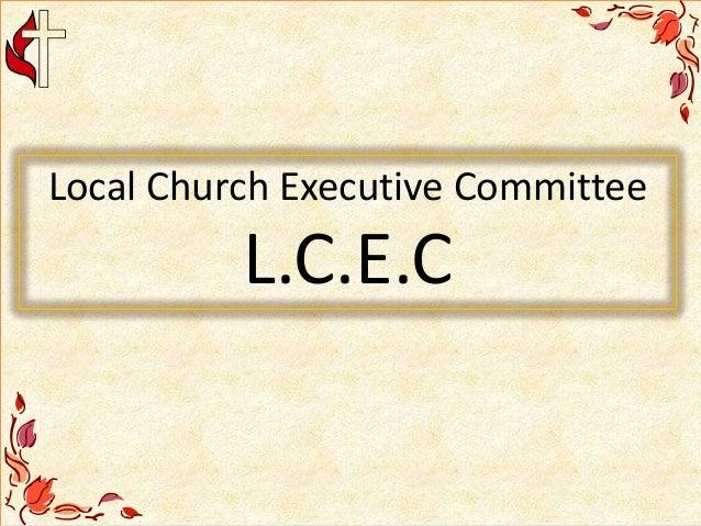 Local Church Executive Committee L.C.E.C