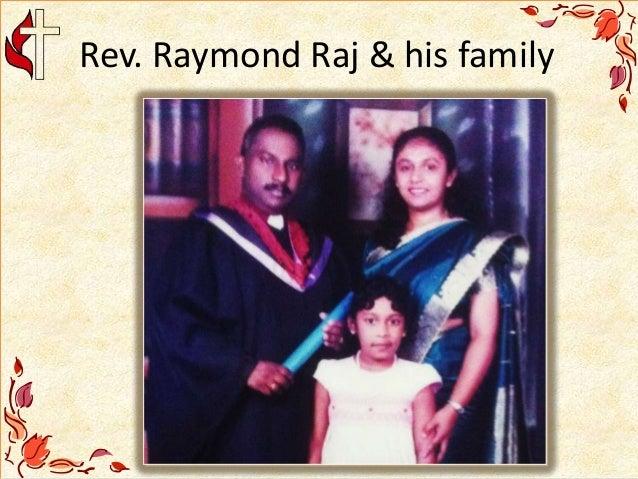 Rev. Raymond Raj & his family