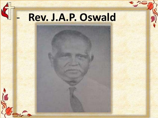 - Rev. J.A.P. Oswald