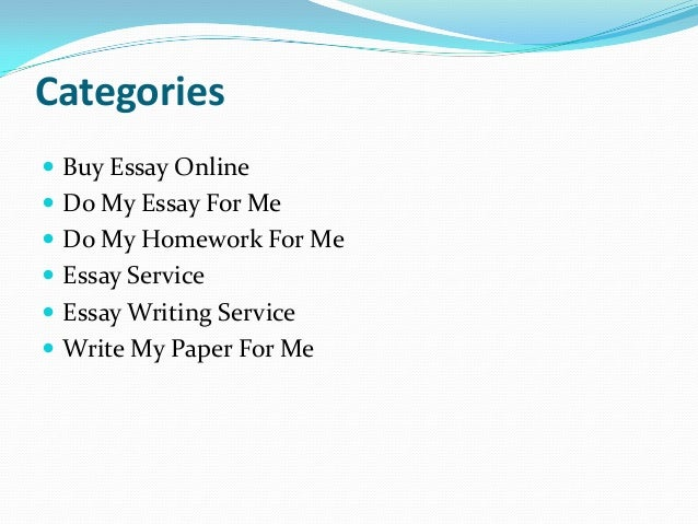 Quality custom essays buy