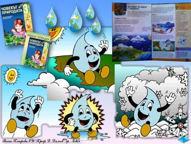 Благодарение на кръговрата на водата реките и язовирите не пресъхват и ние винаги имаме чиста вода за пиене.  Как се извър...