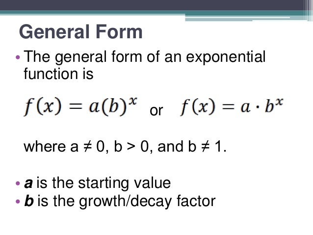 3.2 exponential function tables