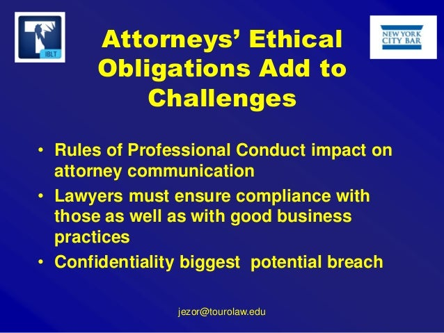 Ethical obligatons of the criminal prosecutor