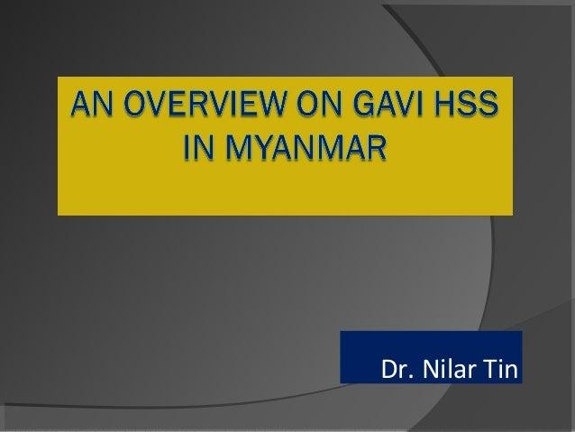 Dr. Nilar Tin