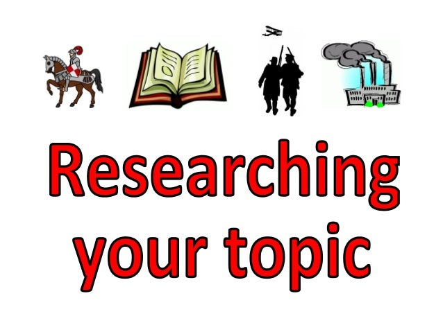 how to create a research topic