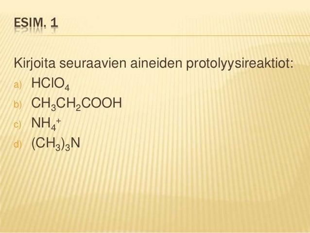 Protolyysireaktio