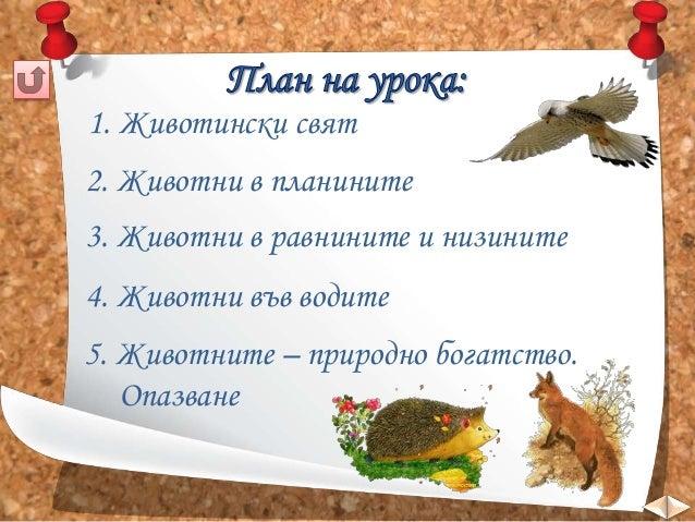Животински свят - ЧО, 3 клас, Булвест