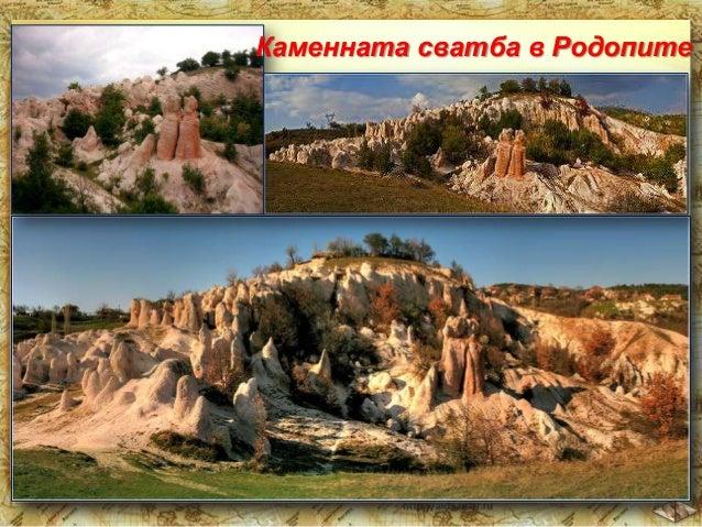 Чудната ръка на природата е създала и много пещери, в които посетителят е план като в свят от приказките.