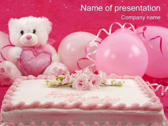 Happy Birthday Powerpoint Template