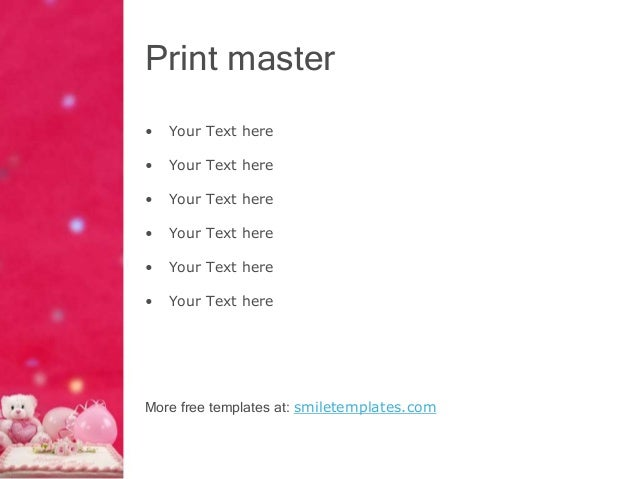 Happy birthday powerpoint template toneelgroepblik Choice Image