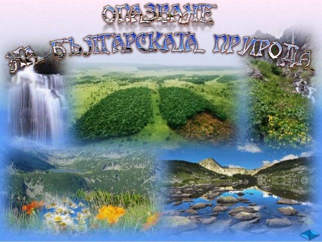 От дълбока древност населението по нашите земи използвало природните богатства.  план