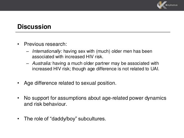 and risky behaviours among gay men