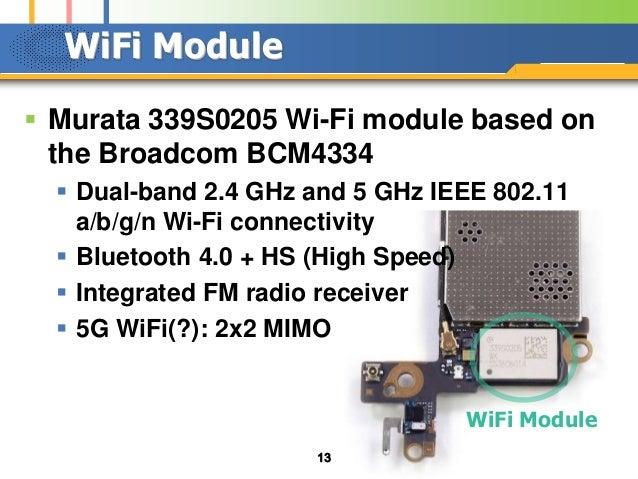 Smartphone Hardware Architecture
