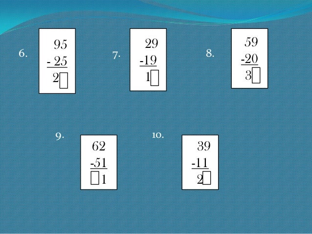 Number Names Worksheets » How To Subtract 2 Digit Numbers - Free ...
