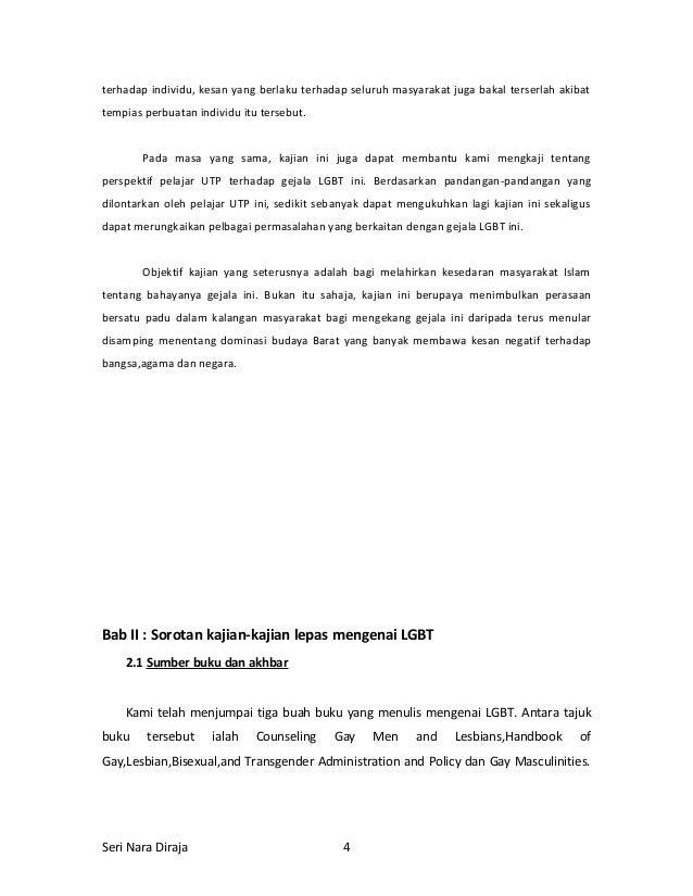 Jurnal pandangan keagamaan terhadap perhubungan homosexual