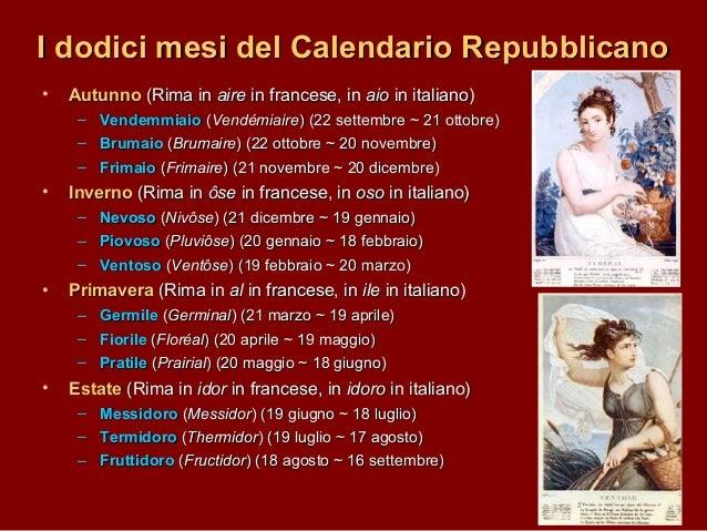 Risultati immagini per calendario rivoluzione francese