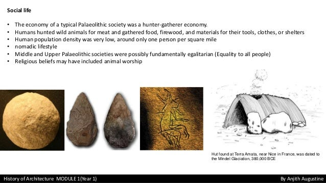 lower paleolithic age