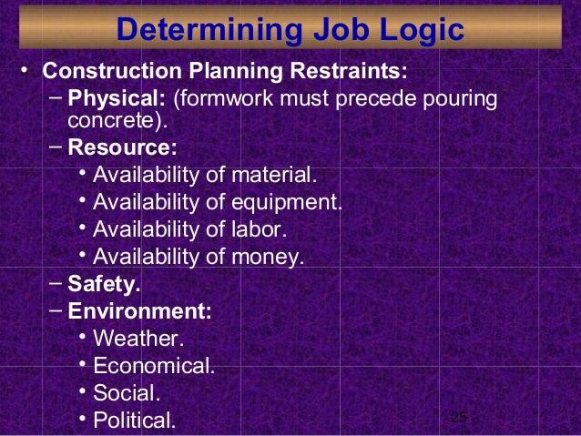 3 Construction Planning Construction Project Management