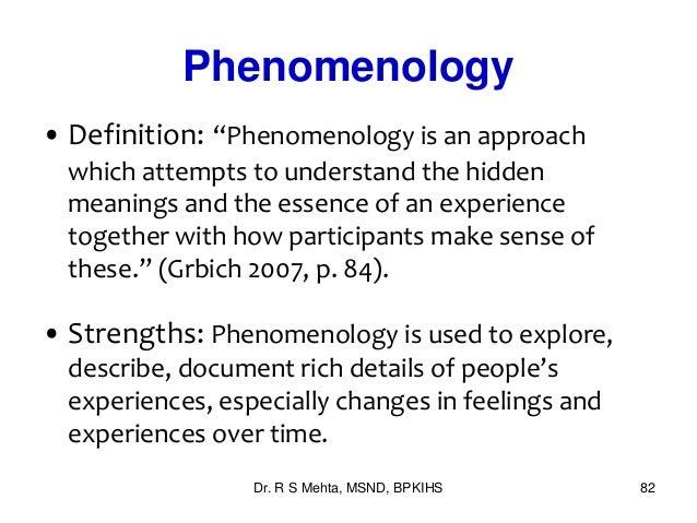 phenomenologically