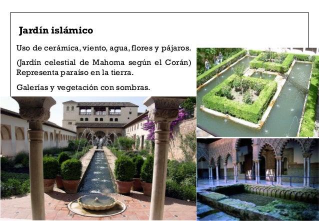 2 jardines for Jardin islamico