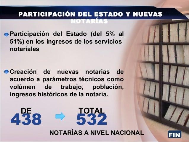 Enlace Ciudadano Nro 279 tema: nuevo sistema notarial
