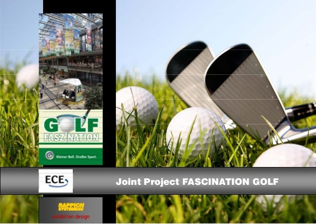 exhibition design RAPPICH SYSTEMBAU Joint Project FASCINATION GOLF
